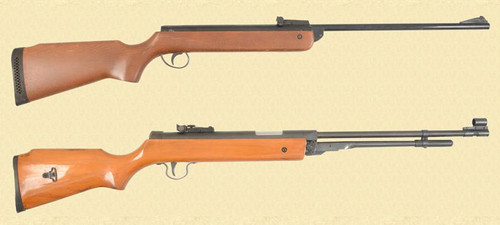 VARIOUS LOT OF TWO AIR RIFLES - Z38202