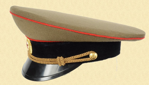 SOVIET OFFICERS VISOR HAT - C26913