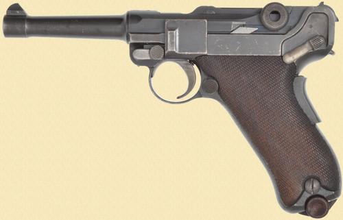 DWM LUGER MODEL 1906 PORTUGUESE NAVY - C40408