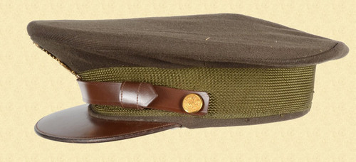 US WW2 OFFICERS VISOR HAT - C17880