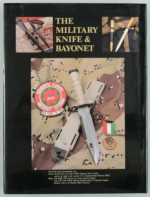 THE MILITARY KNIFE & BAYONET