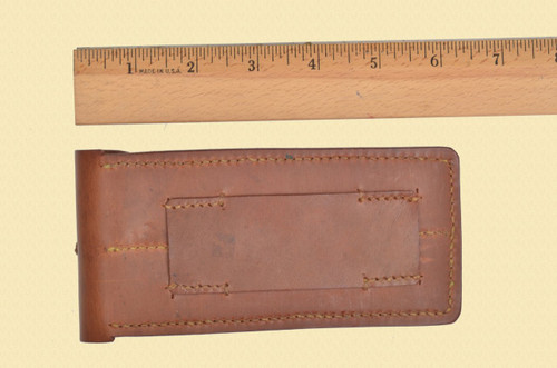 UNKNOWN 1920'S LUGER MAGAZINE POUCH - D15703