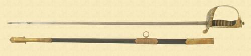 ITALIAN WW2 AF DRESS SWORD - M3482
