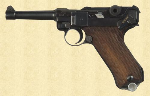 MAUSER 1941 BANNER POLICE - D8982