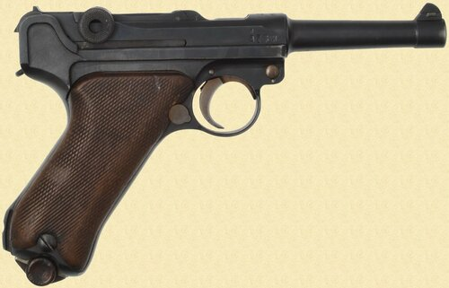 ERFURT LUGER 1920/1917  POLICE REWORK - C40363