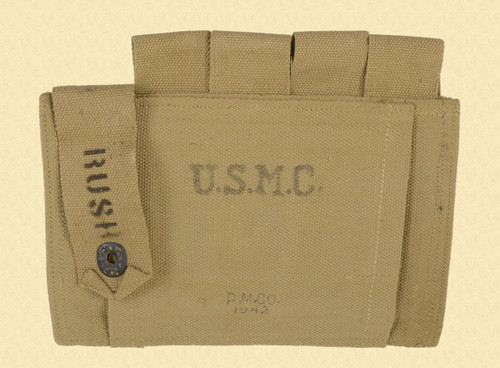 US U.S.M.C. THOMPSON MAG POUCH - C38828