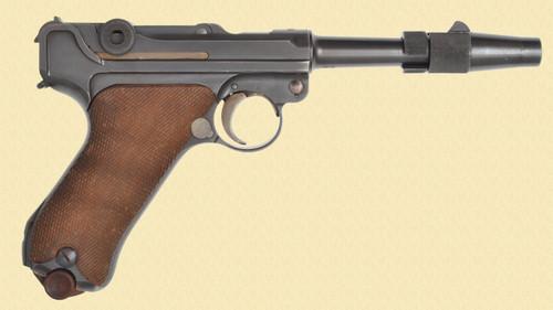 DWM LUGER 1920 POLICE REWORK - C40387
