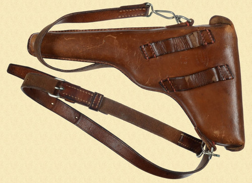 SWISS MILITARY LUGER HOLSTER - M5685