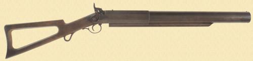 C C BRAND PERCUSSION WHALING GUN - C23817