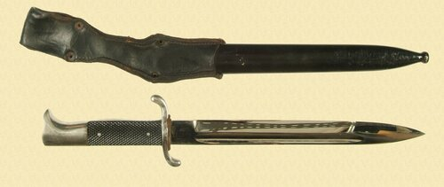 GERMAN FIREMANS DRESS BAYONET - M5060