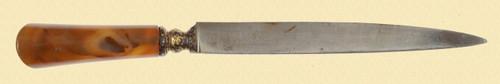 OTTOMAN KARD DAGGER - C24339