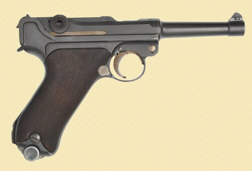 DWM LUGER 1920 POLICE - C40393