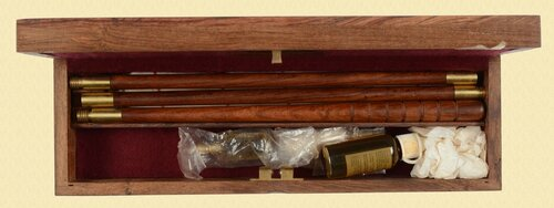 WILLIAM POWELL & SON SHOTGUN CLEANING KIT - M6353