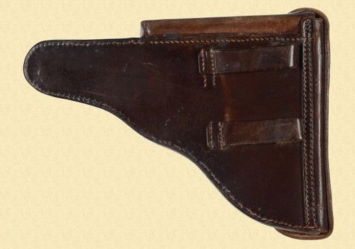 LUGER TURKISH SECURITY POLICE HOLSTER - M5670