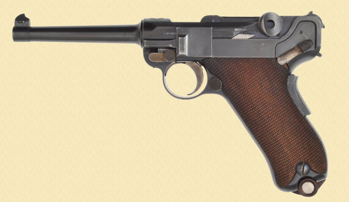 DWM LUGER SWISS MILITARY 1900 - C40400