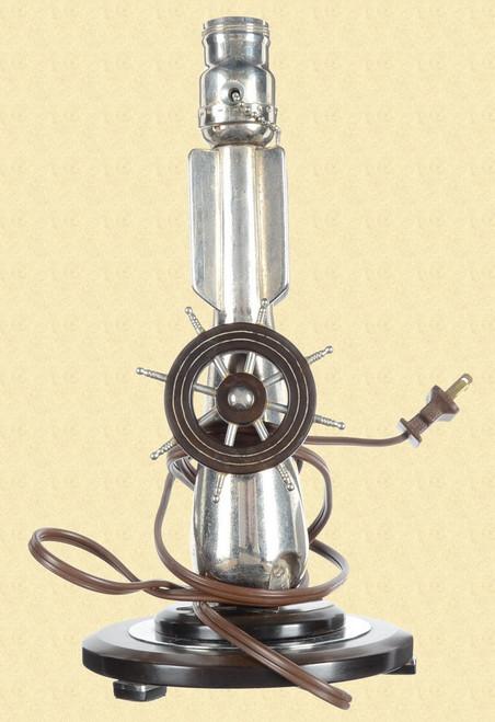 TRENCH ART LAMP - M5532