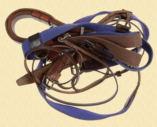 MISCELLANEOUS RIFLE SLING LOT - C26548