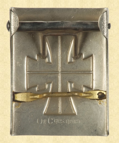 GERMAN BELT BUCKLE - C9694