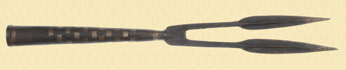 AFRICAN DOUBLE SPEAR TIP - C19412