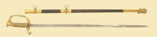 US NAVY DRESS SWORD - M2413
