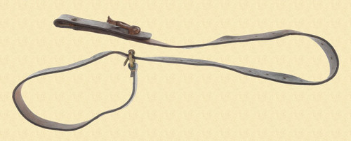 UNIDENTIFIED LEATHER RIFLE SLING - M5912