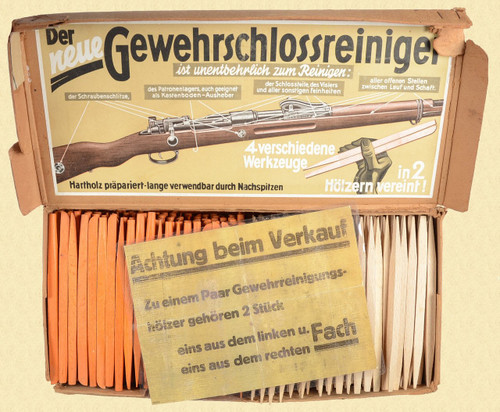 GERMAN RIFLE CLEANING ACCESSORIES - C25773