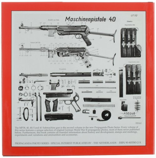 The MP38, 40, 40/1 and 41 submachine gun