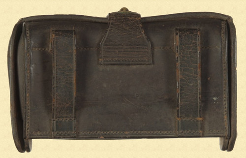 US LEATHER CARTRIDGE POUCH - M4340