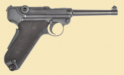 WF BERN 1929 SWISS LUGER - C40481