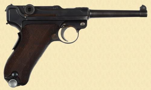 MAUSER 1906/34 SWISS BANNER - D13451