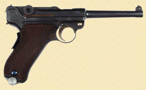 MAUSER 1906/34 SWISS BANNER - D13397