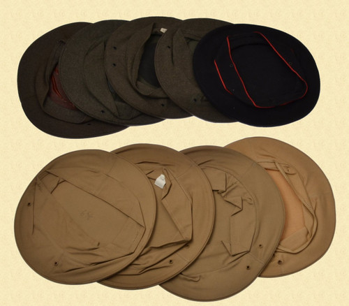 U.S. MILITARY VISOR HAT COVER LOT - C28905