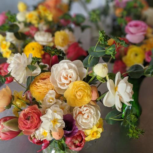 Seasonal Cut Flower Bouquet