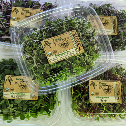 Microgreens, 2 oz container