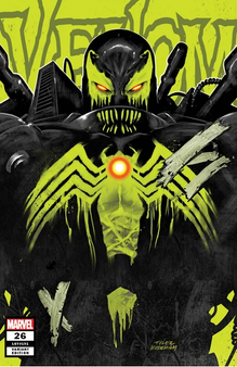 Venom #26 First appear of the symbiote known as Virus
