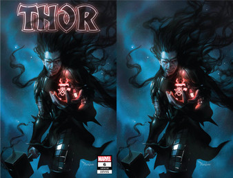 (W) Cates, Donny (A) Klein, Nic (C) Mercado, Miguel MARVEL COMICS  THE DEATH OF KING THOR! The Black Winter has the power to reveal the means of any person's demise - and if the vision is true- Asgard is going to need a new Odinson to take the throne! But Thor is no mere herald or king - and even the death of all existence should fear his coming wrath. Rated T+   *All street dates and art are subject to change by publishers.
