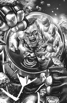 JUGGERNAUT #1 (OF 5) DX  TRADE DRESS (W) Fabian Nicieza (A) Ron Garney (CA)Mico Suayan  MARVEL COMICS  READY OR 'NAUT- HERE HE COMES! A mystic gem. A force of overwhelming power. Nothing can stop the Juggernaut. Except himself. Another building falls. Cain Marko is done letting others pick up the pieces of the things he's destroyed. Renowned X-scribe Fabian Nicieza (X-FORCE- DEADPOOL) and celebrated artist Ron Garney (CAPTAIN AMERICA- DAREDEVIL) team up to take the unstoppable in a new bold new direction! Rated T+