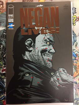 NEGAN LIVES #1 (MR) IMAGE COMICS (W) Robert Kirkman (A) Charlie Adlard, Cliff Rathburn (CA) Charlie Adlard, Dave McCaig The greatest f*@king comic book villain of ALL-TIME returns. 'Nuff said.