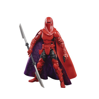 STAR WWARS BLACK SERIES 50TH ANN CARNOR JAX HASBRO TOY GROUP   CARNOR JAX: Training himself in the ways of the dark side of the Force, Carnor Jax became one of the most formidable members of the Imperial Guard. He betrayed his brotherhood by usurping the Imperial throne  LUCASFILM 50TH ANNIVERSARY FIGURE: Commemorate the first 50 years of Lucasfilm with figures inspired by Star Wars books and comics (Each sold separately. Subject to availability)  ENTERTAINMENT-BASED CHARACTER-INSPIRED ACCESSORY: This Star Wars The Black Series action figure comes with a detachable entertainment-inspired accessory that makes a great addition to any Star Wars collection PREMIUM DESIGN AND ARTICULATION: Star Wars fans can display this fully articulated figure featuring poseable head, arms, and legs, as well as premium deco, in their action figure and vehicle collection LOOK FOR OTHER FIGURES FROM A GALAXY FAR, FAR AWAY: Look for movie- and entertainment-inspired Star Wars The Black Series figures to build a Star Wars Galaxy (Each sold separately. Subject to availability)