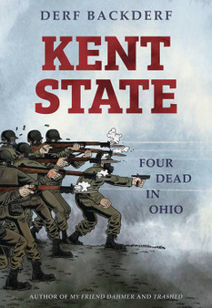 KENT STATE FOUR DEAD IN OHIO GN ABRAMS COMICARTS (W/A) Derf Backderf (CA) Derf   On May 4, 1970, the Ohio National Guard gunned down unarmed college students protesting the Vietnam War at Kent State University. In a deadly barrage of 67 shots, 4 students were killed and 9 shot and wounded. It was the day America turned guns on its own children-a shocking event burned into our national memory. A few days prior, 10-year-old Derf Backderf saw those same Guardsmen patrolling his nearby hometown, sent in by the governor to crush a trucker strike. Backderf has conducted extensive interviews and research to explore the lives of these four young people and the events of those four days in May, when the country seemed on the brink of tearing apart.   29.99