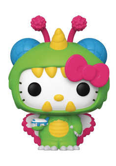 """FUNKO POP GAMES HELLO KITTY KAIJU SKY KAIJU VINYL FIGURE FUNKO From Funko. Hello Kitty Kaiju Pop! is here to conquer the the world with cuteness and destroy your heart with plastic perfection! Each Pop! figure stands approximately 3 3/4"""" tall and comes in a window box for display."""