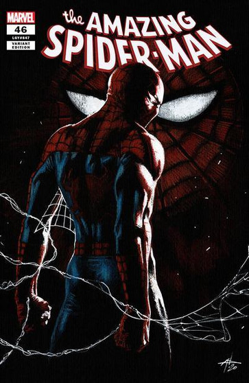 AMAZING SPIDER-MAN #47 UNKNOWN COMICS GABRIELE DELL'OTTO VAR  'SINS RISING' PART 3 • Sin Eater has leveled up and is looking for more sins to eat. • His new target? A place with plenty of sins to go around: Ravencroft Institute for the Criminally Insane. • Spider-Man faces a conundrum he hasn't faced before- and it is messing him up. • We are one month from AMAZING SPIDER-MAN LGY #850 and it is going to be a doozy.  *All street dates and art are subject to change by publishers.