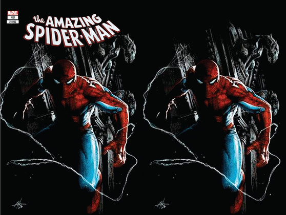 AMAZING SPIDER-MAN #48 UNKNOWN COMICS GABRIELE DELLOTTO EXCLUSIVE VAR  (W) Spencer, Nick (C) Casanovas, Josemaria (CA) Dell'Otto, Gabriele MARVEL COMICS  • Spider-Man has been pushed harder than he has in a very long time and in ways he has never been before. • How far can he be pushed before he breaks? • Who he has to face this issue is going to answer that very clearly as we are one issue from AMAZING SPIDER-MAN LGY #850!  *All street dates and art are subject to change by publishers.  *We guarantee 9.2+ condition of book unless otherwise stated. We can not guarantee 9.8 grades on raw books