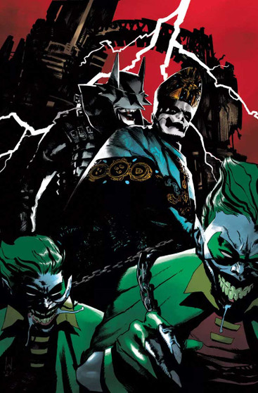 Dark Knights: Death Metal – Band Edition – Turkish Variants  In anticipation of the international launch of DC's runaway 2020 hit limited series,Dark Nights: Death Metal, the publisher announced today plans to collaborate with seven of the most renowned metal music bands forDark Nights: Death Metal – Band Edition.  Representing a cross-section of metal music from across genres and generations, each special edition will feature a variant cover spotlighting a different metal band, an introduction from the band and exclusive interview. The lineup includes:  Issue #2:Featured band:Ghost Cover artist:Werther Dell' Edera  Please note that due to international shipping and printing release of these books is not expected until SEPTEMBER, 2021. This is a pre-order for the Turkish version of these variants. Turkish books have a slightly smaller printing size than US books, as pictured. Issue #7:Featured band:Ozzy Osbourne Cover artist:Marco Mastrazzo  Please note that due to international shipping and printing release of these books is not expected until September, 2021. This is a pre-order for the Turkish version of these variants. Turkish books have a slightly smaller printing size than US books, as pictured.