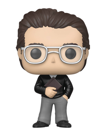 """POP ICONS STEPHEN KING FUNKO From Funko. Bring home the artistic luminary, best-selling novelist Pop! Stephen King. This POP! figure stands about 3 3/4"""" tall and comes in a window box for display!"""
