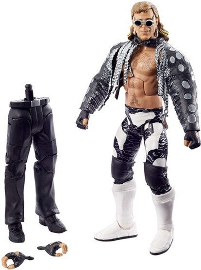 WWE Elite Collection WrestleMania Shawn Michaels (Large Item, Action Figure, Collectible) Take the Road to WrestleMania with the WWEShawn Michaels Eliteaction figure! This 6-inch / 15.24-cm scale figure is a must-have for kids and collectors to play out WrestleMania moments.Shawn Michaelsfigure includes entrance gear, swappable hands, and detailed TrueFX technology for a life-like look.