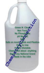 Green N Clean No Phosphate pH neutral cleaner