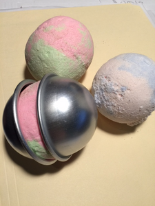 bath bomb mold set stainless steel MakeYourOwn