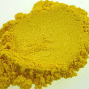 magic yellow mica MakeYourOwn