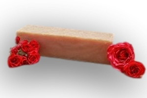 sweet rose soap loaf MakeYourOwn